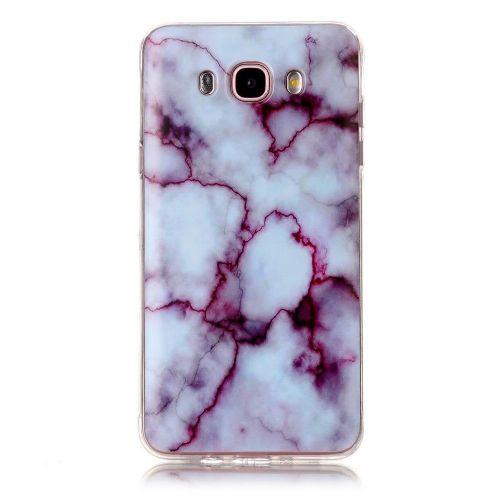"""Modni ovitek """"Marble"""" za Samsung Galaxy J7 (2016) - vijoličen"""