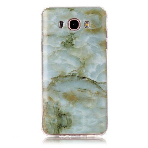 "Modni ovitek ""Marble"" za Samsung Galaxy J7 (2016) - zelen"