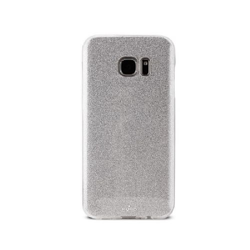 Ovitek Galaxy S7 edge bleščice srebrn