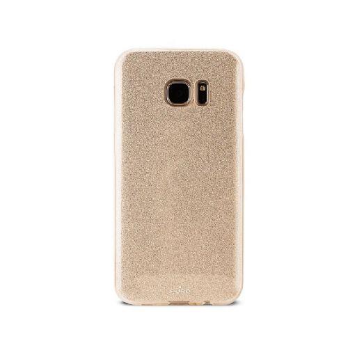 Ovitek Galaxy S7 edge bleščice zlat