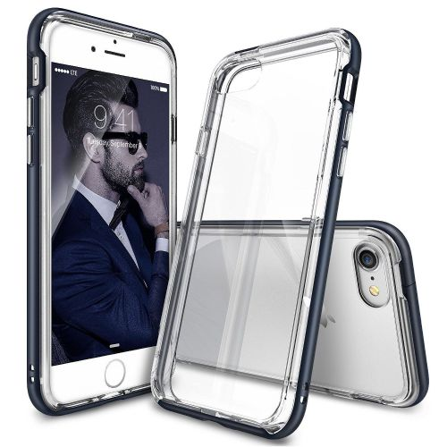 """Ovitek Ringke """"Frame"""" za iPhone 7 - slate metal"""