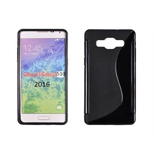 S silikonski ovitek Samsung Galaxy A5 2016 A510 črn