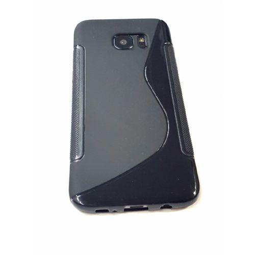 S silikonski ovitek Samsung Galaxy S7 Edge G935 črn