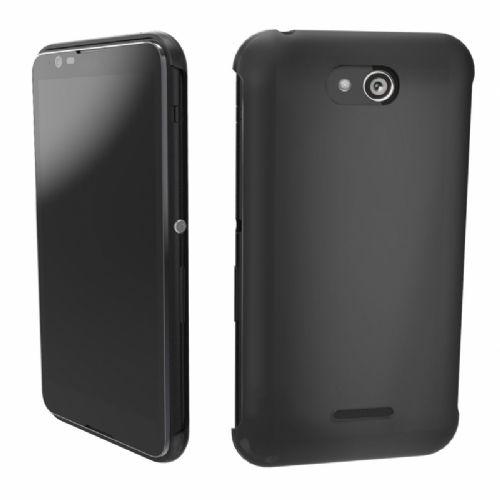 Sony Soft Touch ovitek Xperia E4 črn