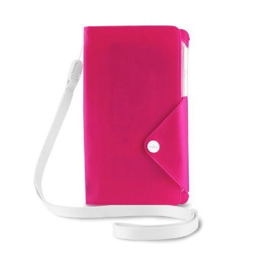 Torbica vodoodporna book roza