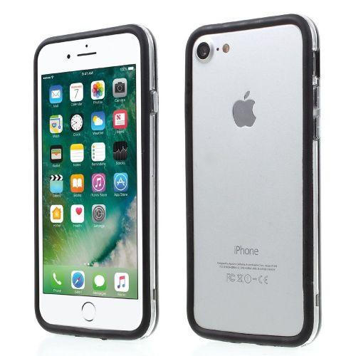 TPU Bumper za iPhone 7 - črn