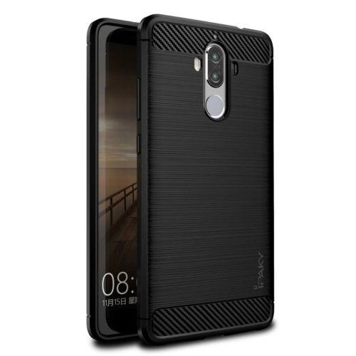 """TPU gel ovitek """"Brushed Ipaky"""" za Huawei Mate 9 - črn"""