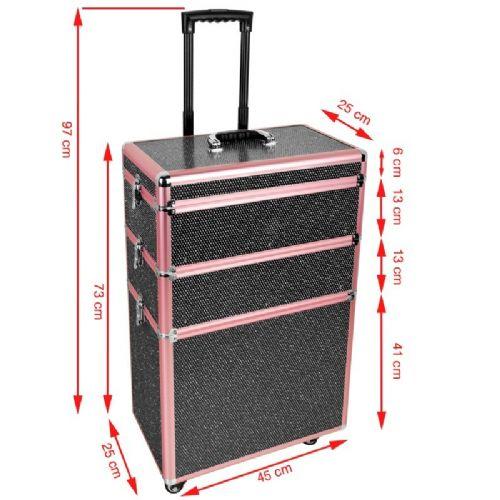 Kozmetični kovček 9347a