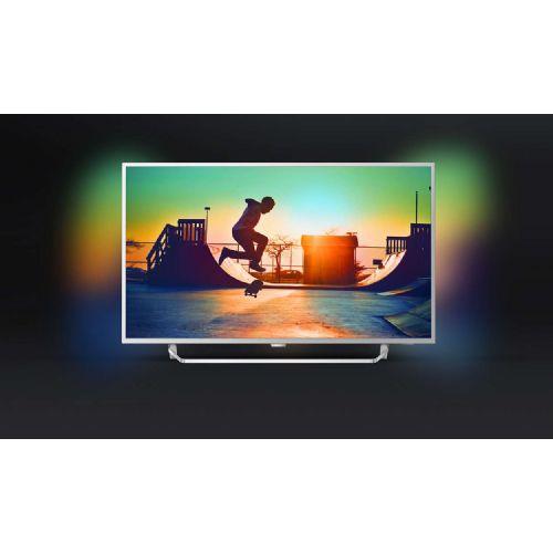 televizor philips 55pus6412 55 140 cm 4k android tv. Black Bedroom Furniture Sets. Home Design Ideas