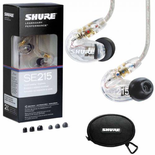 Slušalke Shure SE215-CL-E