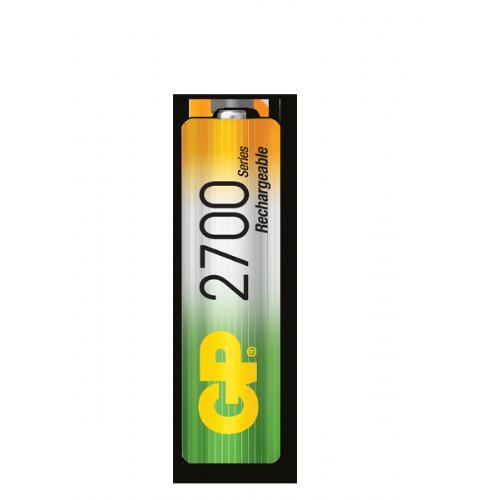 AA 2700 mAh Ni-Mh polnilna GP baterija