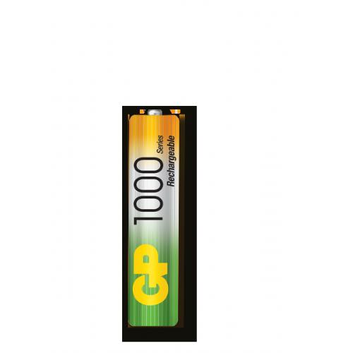 AAA 1000 mAh Ni-Mh polnilna GP baterija