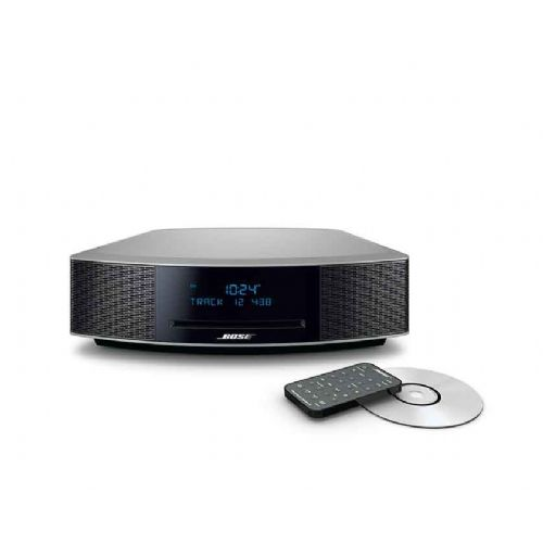 Glasbeni stolp Bose Wave Music System IV Dab srebrn