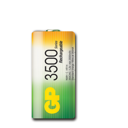 C 3500 mAh Ni-Mh polnilna GP baterija