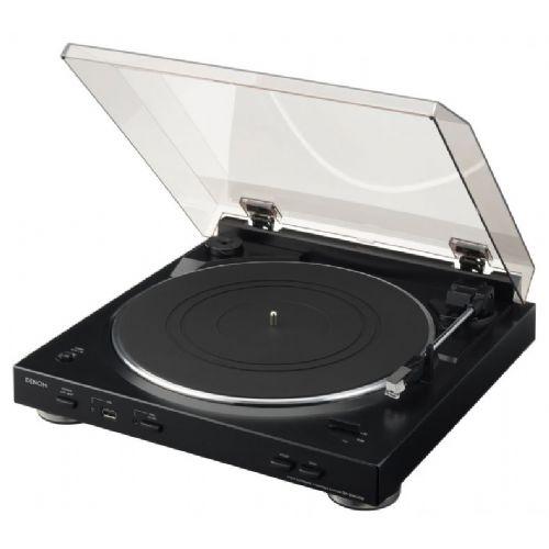 Denon gramofon DP-200USB črn