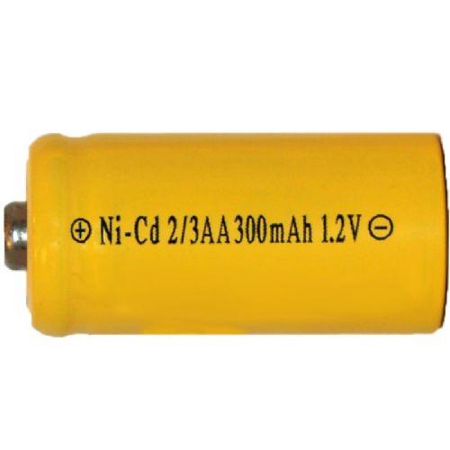 Industrijska 2/3 AA 400 mAh Ni-Cd polnilna baterija