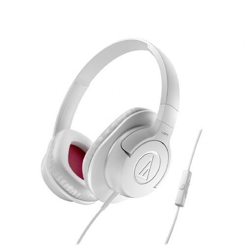 "Over-Ear slušalke Audio-Technica ""SonicFuel"" ATH-AX1iS - bele"