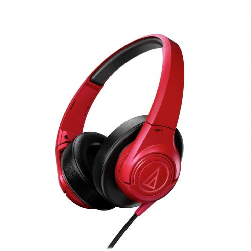 "Over-Ear slušalke Audio-Technica ""SonicFuel"" ATH-AX3iS - rdeče"
