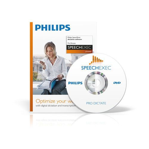 PHILIPS LFH4400/00 pro dictate software