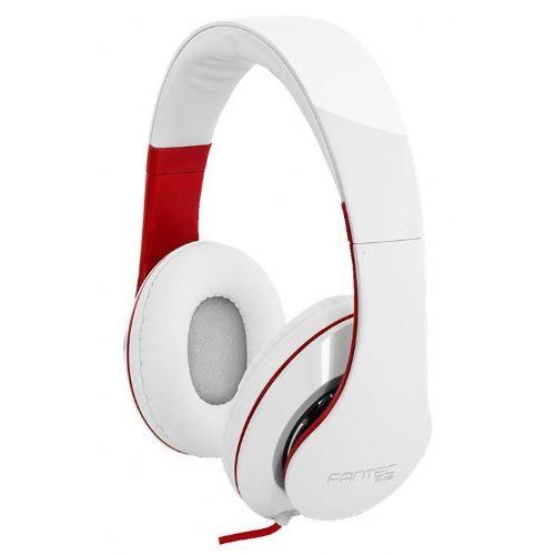 Slušalke stereo SHP-250AJ belo/rdeče Fantec