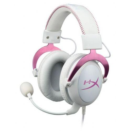 Slušalke z mikrofonom Kingston HyperX Cloud II roza, gaming (KHX-HSCP-PK)
