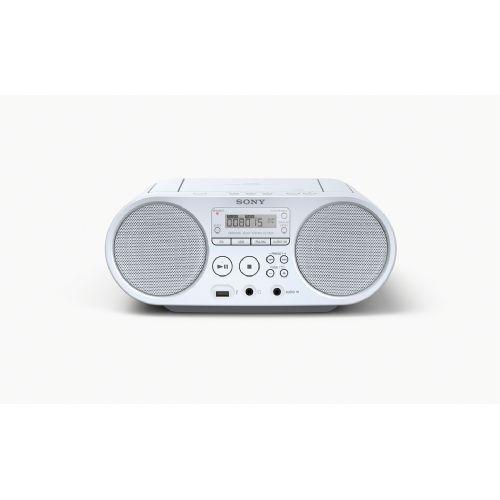 SONY radio MP3/CD z USB vhodom v beli barvi
