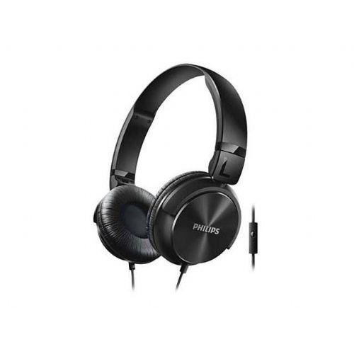 Stereo naglavne slušalke z mikrofonom Philips SHL3065BK