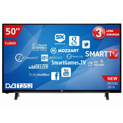 """Televizor VOX 50YSD550 50"""" Full HD LED Smart TV"""