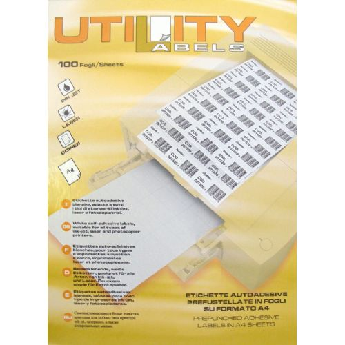Etikete Utility 99,1 x 42,3 mm