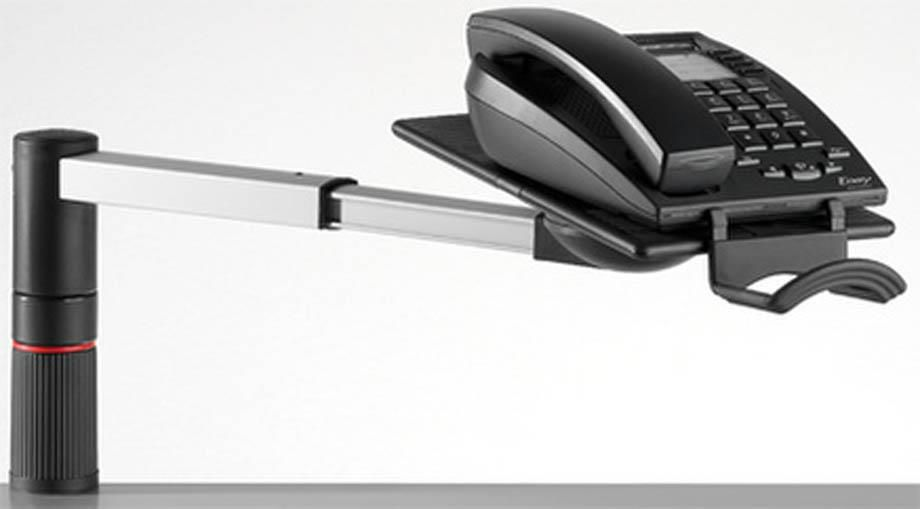 novus ms stojalo za telefon scopemaster srebrna temno siva. Black Bedroom Furniture Sets. Home Design Ideas