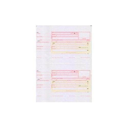 Obrazec UPN (Univerzalni plačilni nalog) za laserske tiskalnike 1500/1