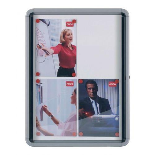 Oglasna vitrina, magnetna - za notranjo uporabo