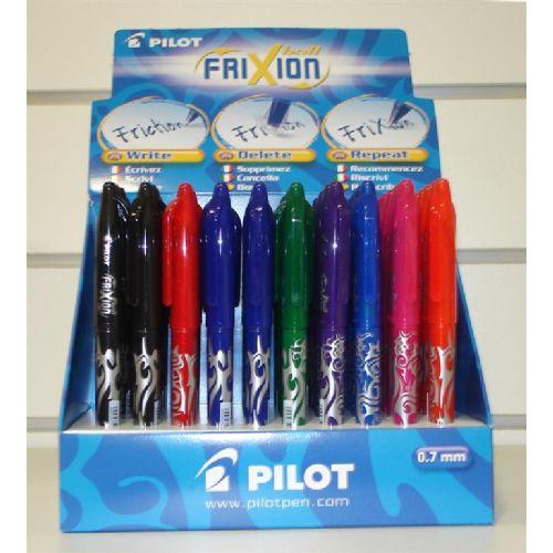 Pilot Roler FRIXION BALL 0,7 displej 60 kos BL-FR7-60DPK