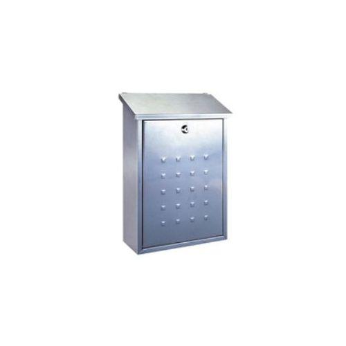 Poštni nabiralnik RIMINI, srebrni