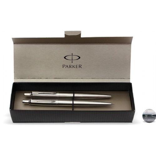 Set Parker Jotter – kemični + tehnični svinčnik, srebrn 16288