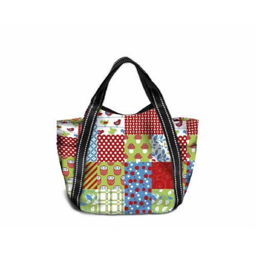 Shopping Bag Maxi 16001 Patchwork