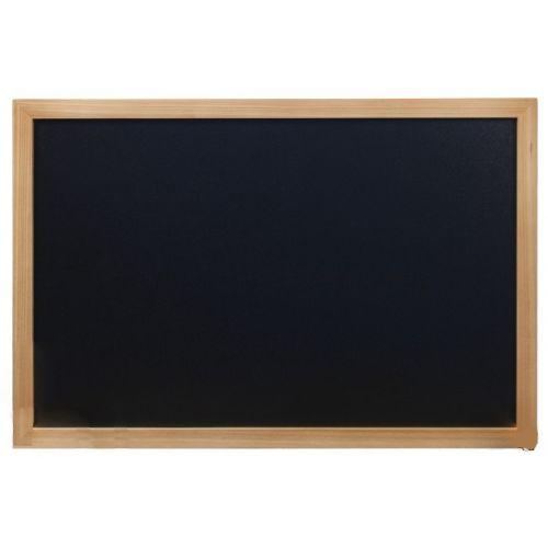 Tabla črna kredna teak WBWTE4060 40x60 cm