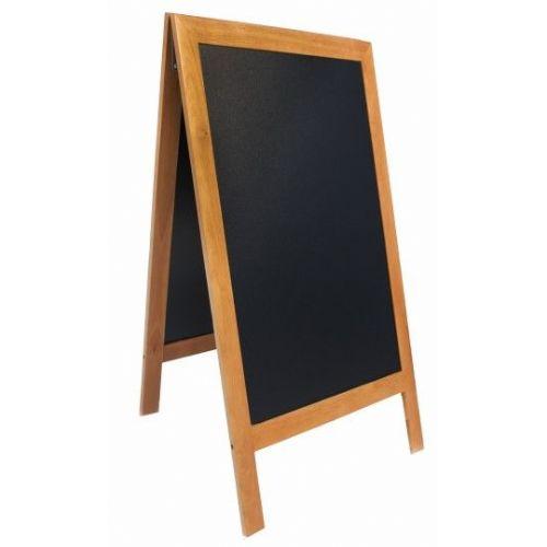 Tabla črna kredna ulična SBSTE120 70X120 cm