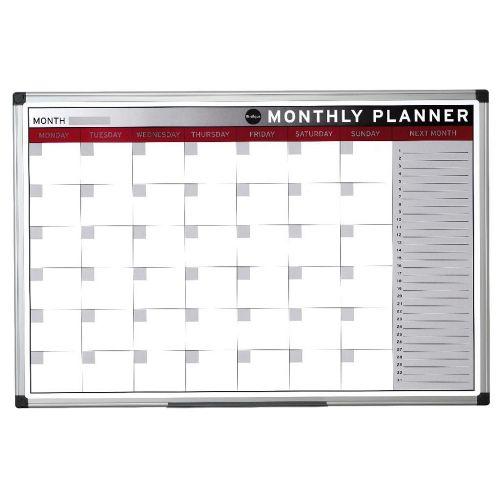 Tabla z mesečnim planerjem 60 x 90