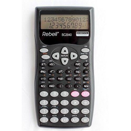Tehnični kalkulator SC2040 Rebell v blistru