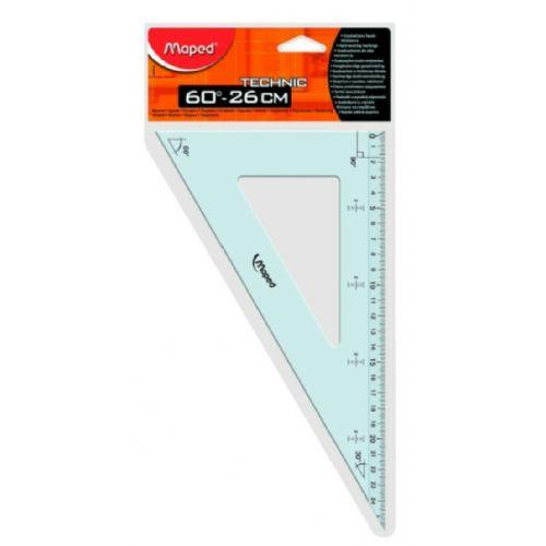 Trikotnik Maped Technic 26 cm/60'