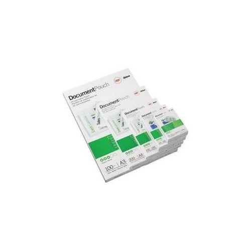 Žepki za plastificiranje, 65 x 95 mm 125 mic - kartica