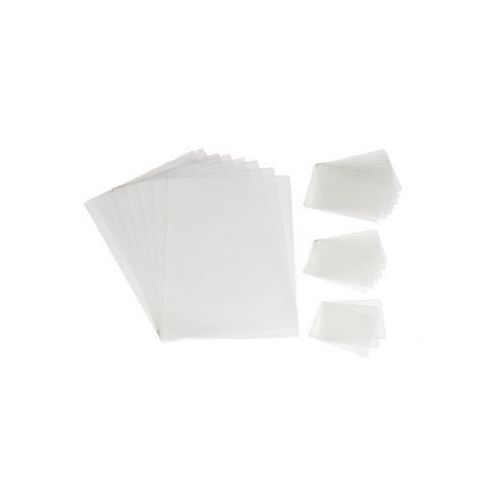 Žepki za plastificiranje DSB 65 x 108 mm, 125 mic