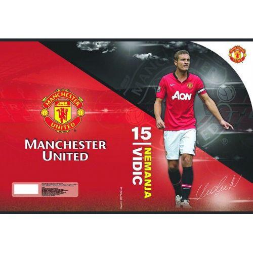 Zvezek A4 brez črt Manchester United 62202
