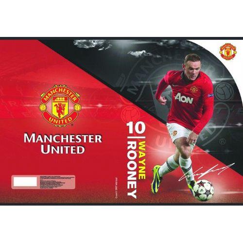 Zvezek A4 mali karo Manchester United 62201
