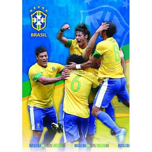 Zvezek Brasil A5 mali karo 62274