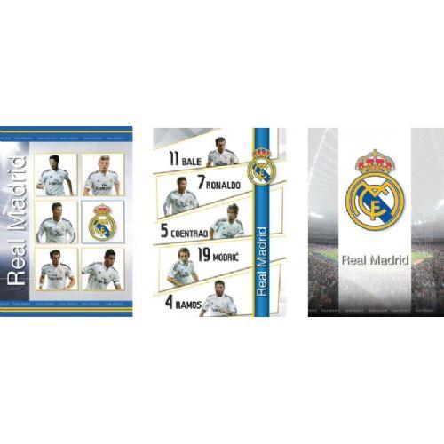 Zvezek črtan REAL MADRID A4