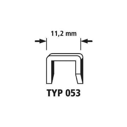 1000 Sponke s širokim hrbtnim delom 1000 kos Wolfcraft 7045000 tip 053 dimenzije, (Š x V) 11.2 mm x 14 mm