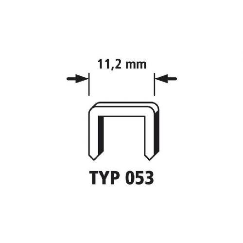 3000 Sponke s širokim hrbtnim delom 3000 kos Wolfcraft 7047000 tip 053 dimenzije, (Š x V) 11.2 mm x 14 mm