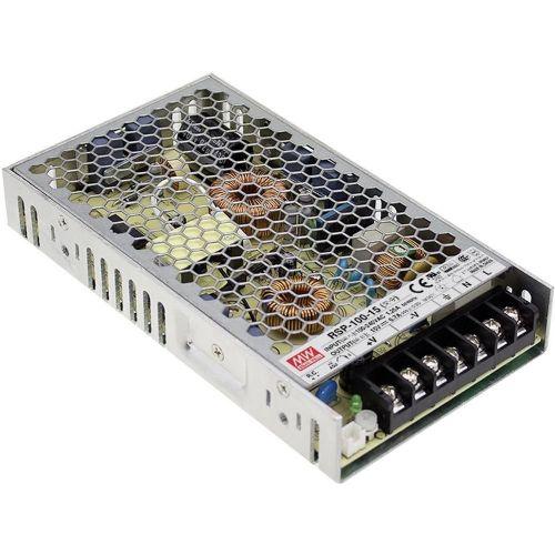 AC/DC-napajalnik, zaprt Mean Well RSP-100-7.5 101 W